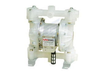 Small Air Driven Diaphragm Pump With Nitrile o - Ring / Polypropylane Pump